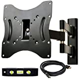 VideoSecu Articulating TV Wall Mount for 22-37