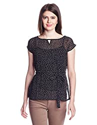 Park Avenue Womens Tunic Top (PWAL00751-K8_Black_86)
