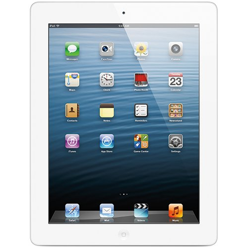Apple iPad with Retina Display MD525LL/A (16GB, Wi-Fi + Verizon, White) NEWEST VERSION