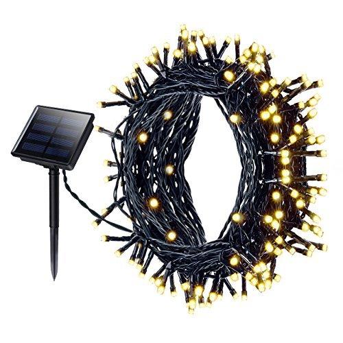 Led solar string lights mpow 72 feet 200 led 8 modes decorative led solar string lights mpow 72 feet 200 led 8 modes decorative light waterproof outdoor lights aloadofball Choice Image