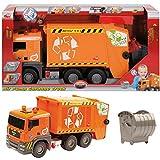 Toy - DICKIE Spielzeug Fahrzeug LKW MAN M�llauto M�lltonne Laster Pump Action Garbage Truck NEU