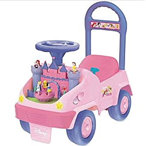 Kiddieland Disney Baby Princess Activity 4-in-1 Ride-On