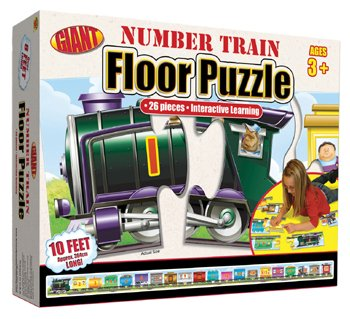 Cheap Frank Schaffer NUMBER TRAIN PUZZLE AGES 3-6 (B001JTMFE0)
