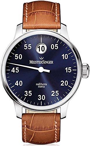 MeisterSinger reloj hombres automática Salthora Meta SAM908