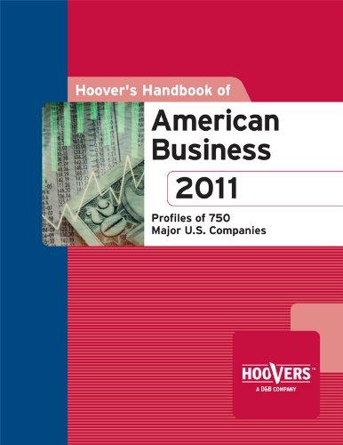 Hoover'S Handbook Of American Business 2011 Vol 1 front-454227