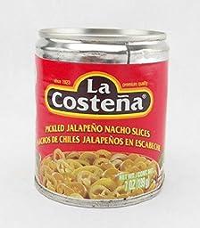 La Costena Pickled Jalapeno Nacho Slices (2 Pack)