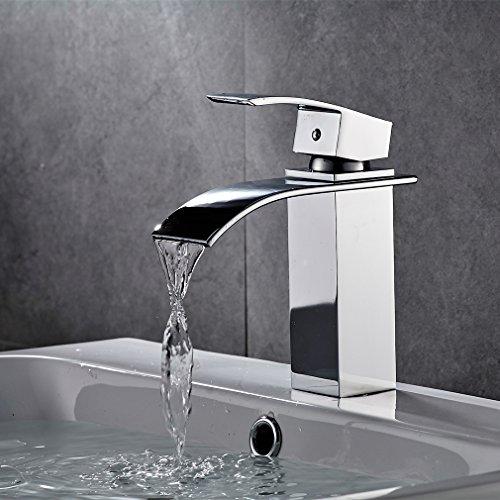 bonade wasserfall waschtischarmaturen bad wasserhahn f r. Black Bedroom Furniture Sets. Home Design Ideas