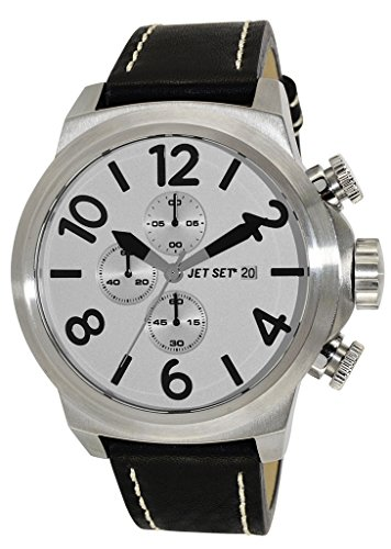 Jet Set Men's Watch New York black/silver J66603-667
