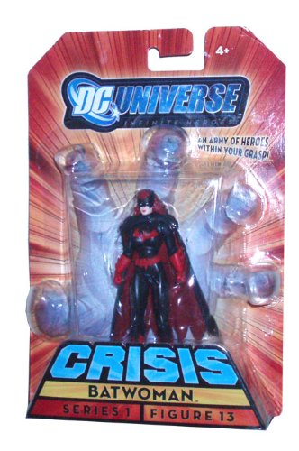 Buy Low Price Mattel DC Universe Series 1 Infinite Heroes Crisis 4 Inch Tall Action Figure # 13 – Hero Batwoman (B002RJSVIK)