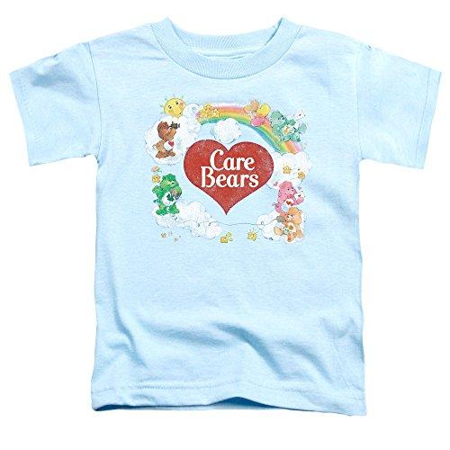 CARE BEARS/CLOUD NINE-S/S TODDLER TEE-LIGHT BLUE-SM(2T)