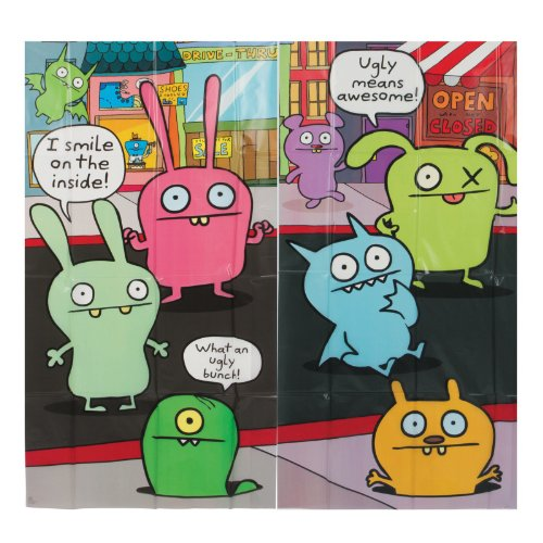 Uglydoll Giant Scene Setter Wall Decorating Kit (5pc)