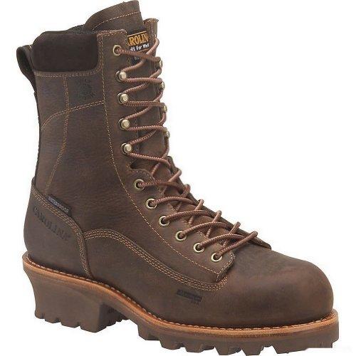 Carolina Shoe Men'S 8 Insulated Waterproof Composite Toe Logger (Cork Harness 11.0 E)