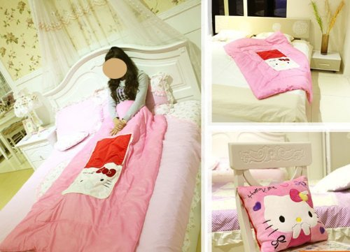 Hello Kitty Baby Bedding 4242 front