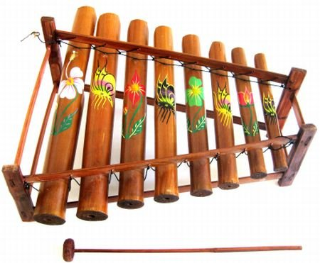 XYLOPHONE ,Meditation Chime Energy Chime Wooden Xylophone Angklung Musical Instrument- JIVE BRAND