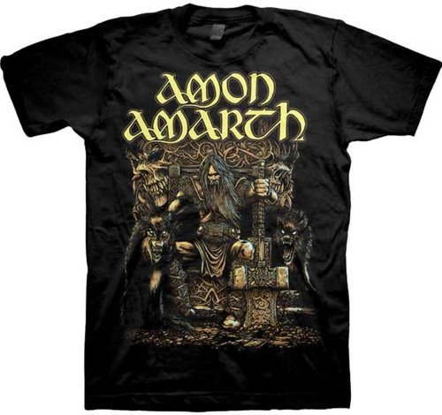 Ill Rock Merch Amon Amarth Thor Oden's Son Shirt - Nero - X-Large