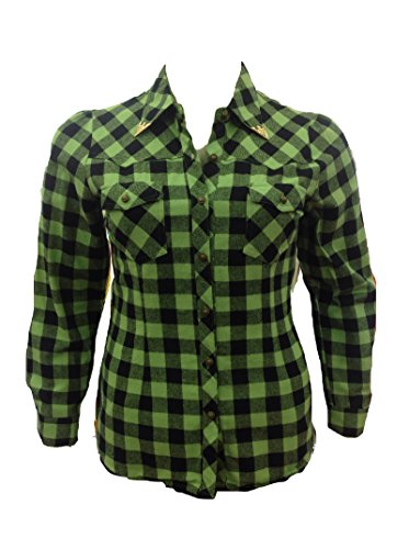 Plus-Size-Go-Green-Plaid-Shirt