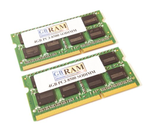8GB DDR3 Recollection RAM kit (2 x 4GB) for Acer Aspire TimelineX 1830T