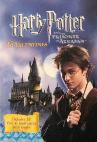 Harry Potter and the Prisoner of azkaban Valentines ~ 32 Fold & Seal Cards with Seals - 1