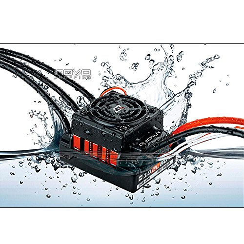 New Shop Hobbywing Quicrun-Wp-10Bl60 60A Waterproof Brushless Esc For 1/10 Rc Car Buggy