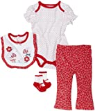 Vitamins Baby 4 pc Short Sleeve Pant Set
