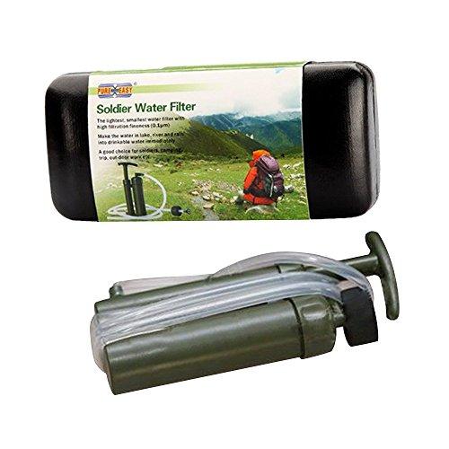 YUANSHOP1 ミニ アウトドア 携帯用浄水器 ポータブル水フィルター ...