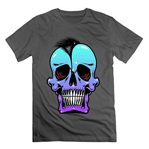 Men's SKULL PUNKS Short-Sleeve T-shirt DeepHeather (Gamecock Candy Jar compare prices)