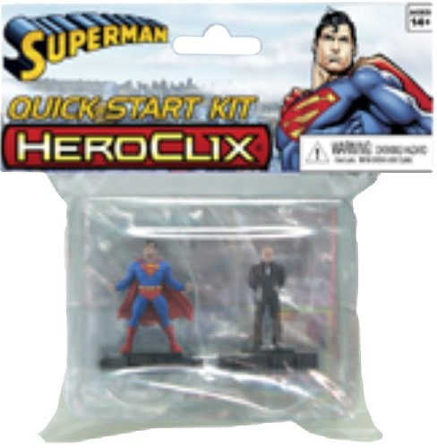 DC Comics Heroclix: Superman 2-Figure QuickStart Set WZK71242