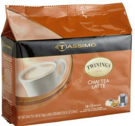 Tassimo Chai Latte T-Discs (Pack of 3) (Tassimo Disk compare prices)