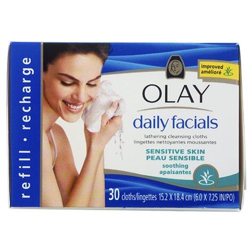 Olay Daily Facials Lingettes nettoyantes