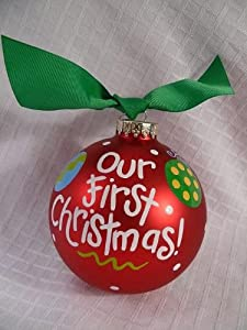 Our First Christmas Holiday Ornament by Coton Colors