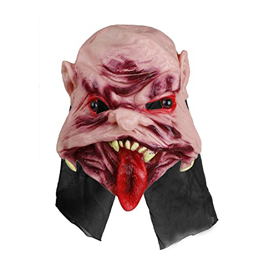 Home-World Scary Rubber Zombie Devil Mask Halloween Masquerade Party Costumes Haunted House Props (Style (Haunted House Ideas For Halloween Party)