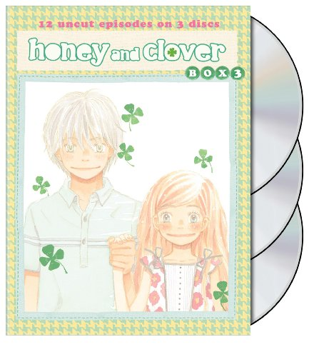 HCII: Honey and Clover: DVD Box, Vol. 3