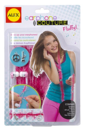 Alex® Toys - Do-It-Yourself Wear! Earphones Couture - Fluff Around 748F