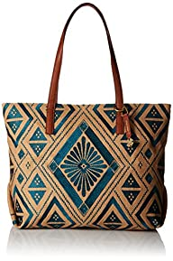 Lucky Brand Maya Top Zip Tote Bag, Tu…