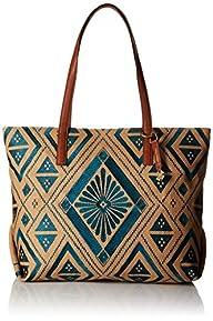 Lucky Brand Maya Top Zip Tote Bag, Tu…
