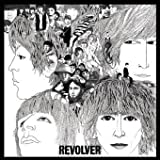PS6895 The Beatles, Revolver album cover, square small vinyl sticker