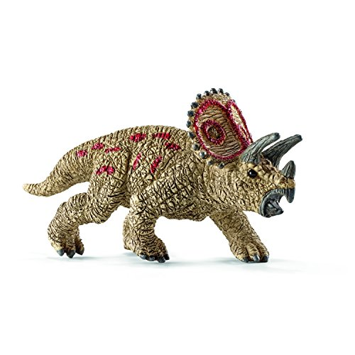 Schleich Triceratops Toy Figure, Mini