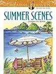 Creative Haven Summer Scenes Coloring...