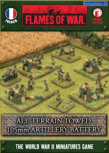 French: All-Terrain Towed 105mm Artillery Battery