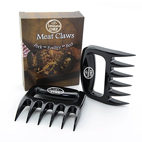 Best Review Of The Best Kitchen Meat Handling & Shredding Claws- Meat Handler Carving Forks - Se...