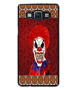 PrintDhaba Scary Joker D-4067 Back Case Cover for SAMSUNG GALAXY A5 (Multi-Coloured)