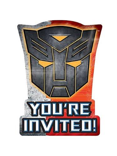 Imagen de Transformers 3 - Invitaciones (8) Parte de accesorios
