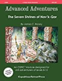 img - for Advanced Adventures #8: The Seven Shrines of Nav'k-qar (OSRIC/ OGL/1E Adventure) book / textbook / text book