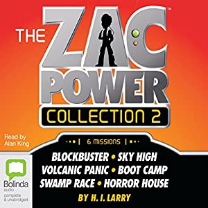 The Zac Power Collection 2 Audiobook
