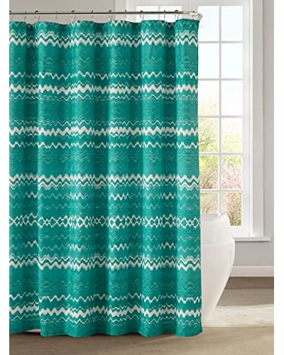 Duck River Textile Mikaela Shower Curtain, Aqua