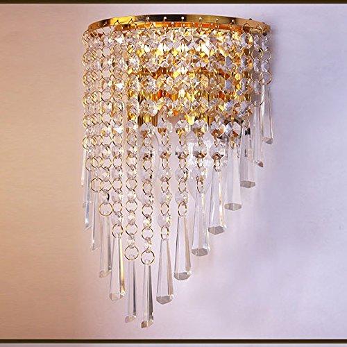 Applique in cristallo esplosioni led parete lampada lampada da comodino parete lampada camera da letto arredamento Hotel corridoio illuminazione 310 * 190 * 130 (mm)