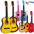 Childrens Childs Kids Wooden Guitar Acoustic Classic Musical Instrument Toy 6 Designs