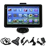 YoYoflyer 7-Inch TF Built-in 4GB TF Hi-Fi Car GPS Navigator WinCE 5.0/6.0,FM Mp3 MP4 (USA Canada and Mexico Map)