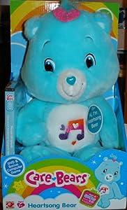 amazoncom care bears heartsong bear with bonus dvd 10