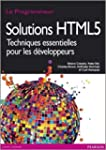 Solutions HTML5